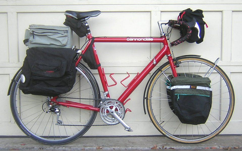 St600 Vintage Cannondale Bicycle Camping Bicycle Bike Cannondale