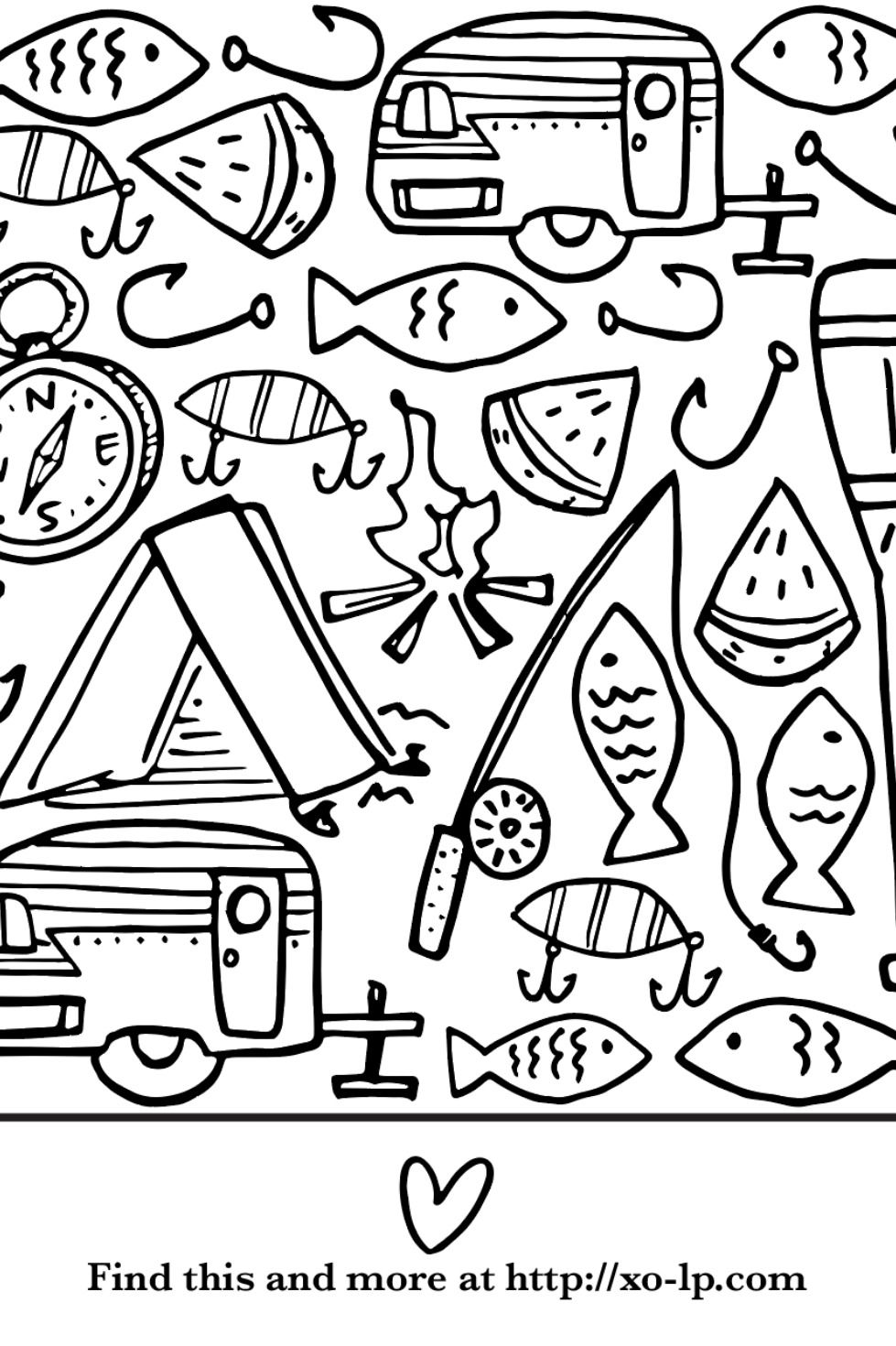 The perfect coloring activity for kids (and adults!). A