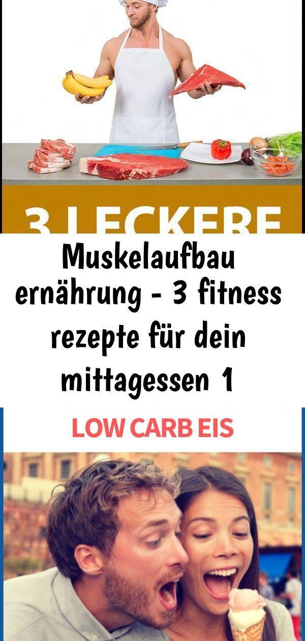 Mit Klick auf das Bild verrate ich Dir meine 3 besten #Muskelaufbau #Rezepte, für eine proteinreiche...