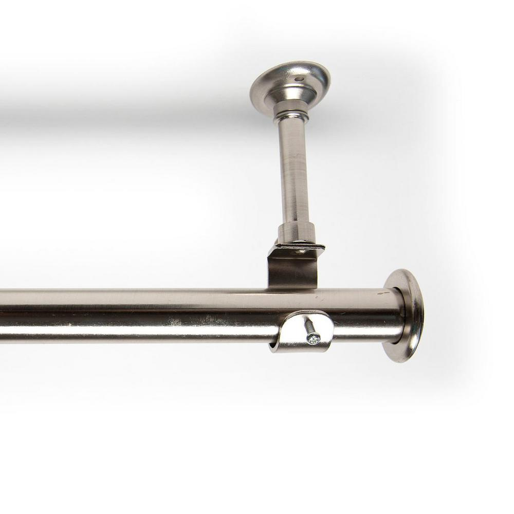 Roomdividersnow 56 In 108 In Hanging Single Curtain Rod With