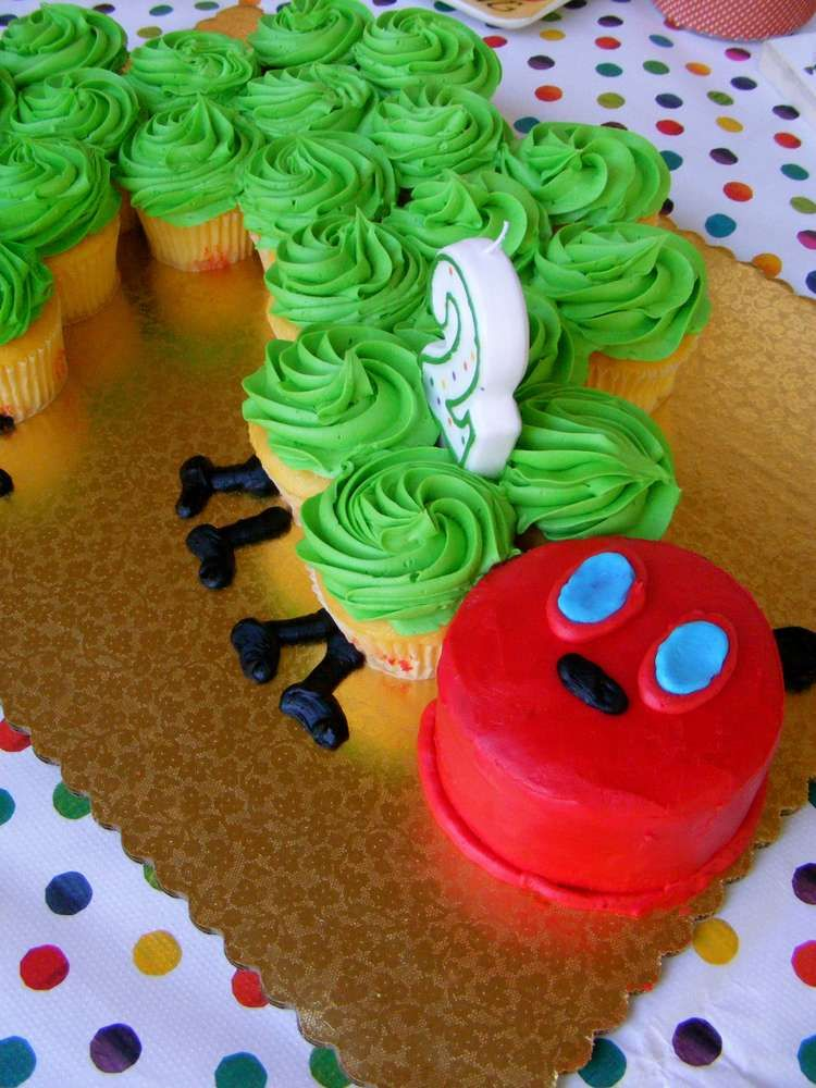 Brooklyn's Very Hungry Caterpillar Party | CatchMyParty.com