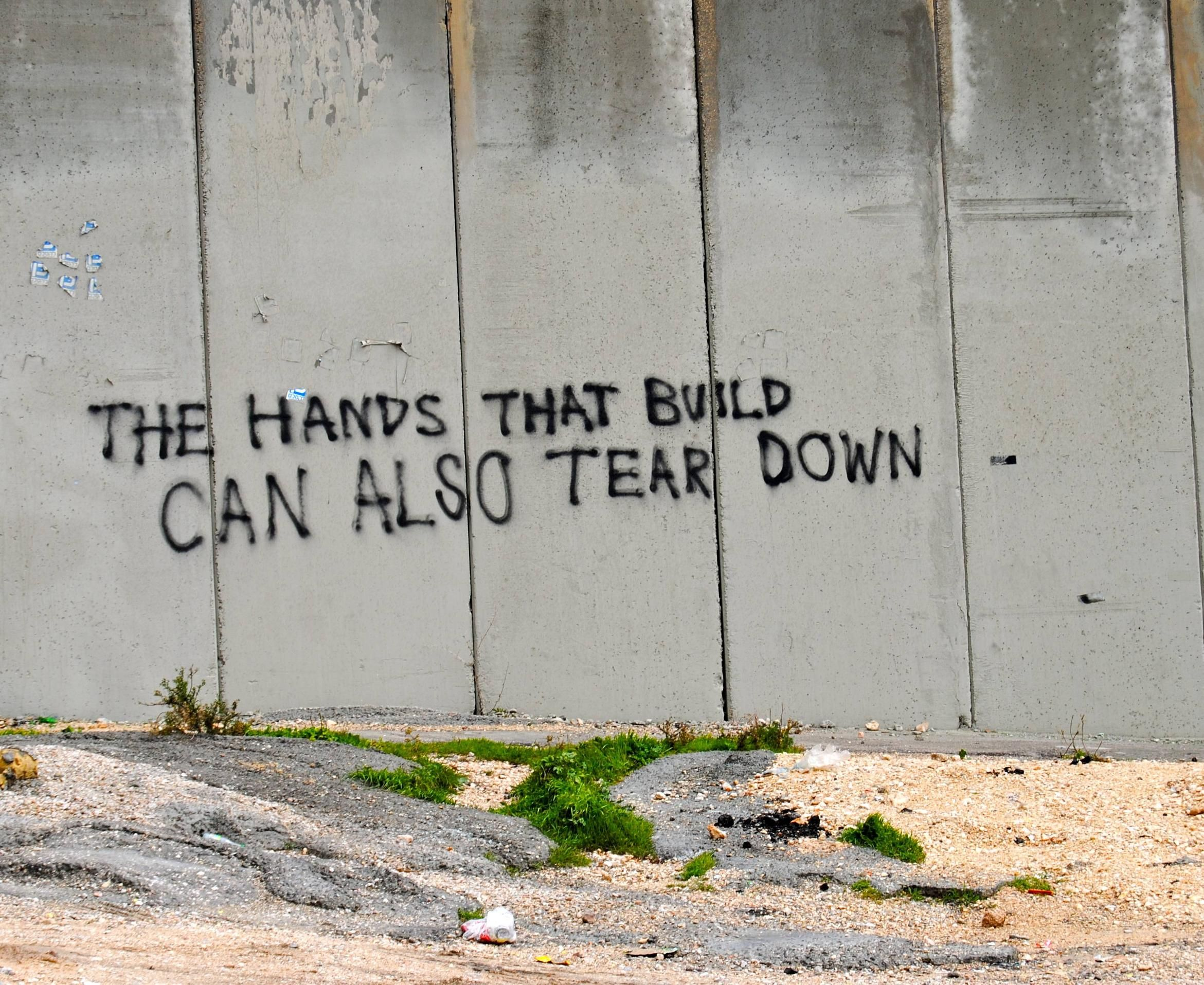 Image result for wall in palestine