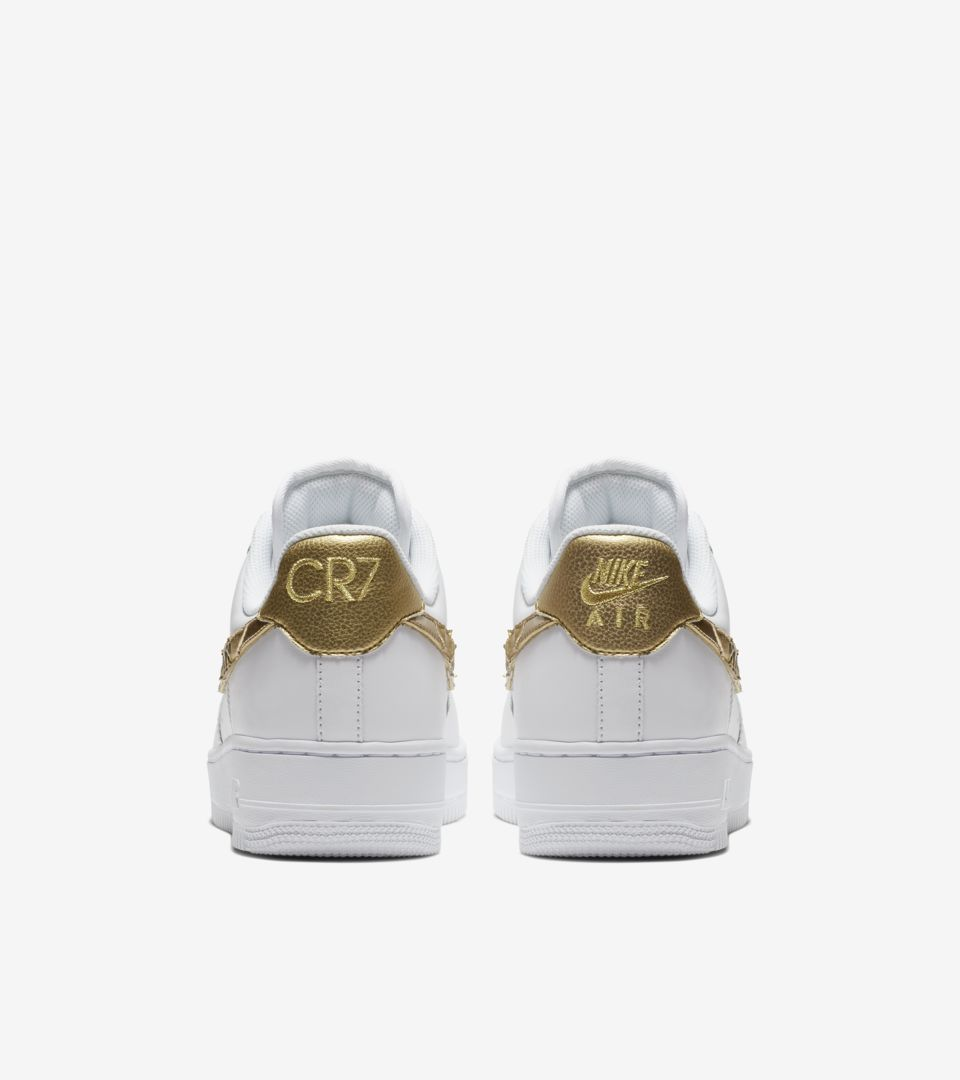 nike air force cr7 gold