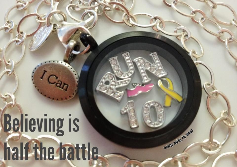 Remember your run with a locket!