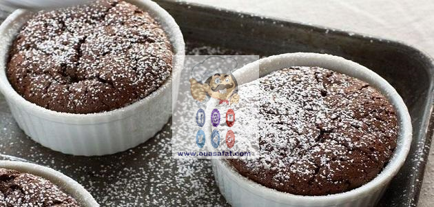 سوفليه الاوريو Arabian Food Lava Cakes Arabic Food