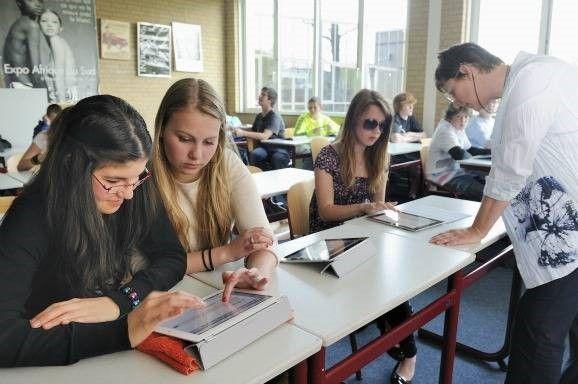 studenten leren visueel te zijn