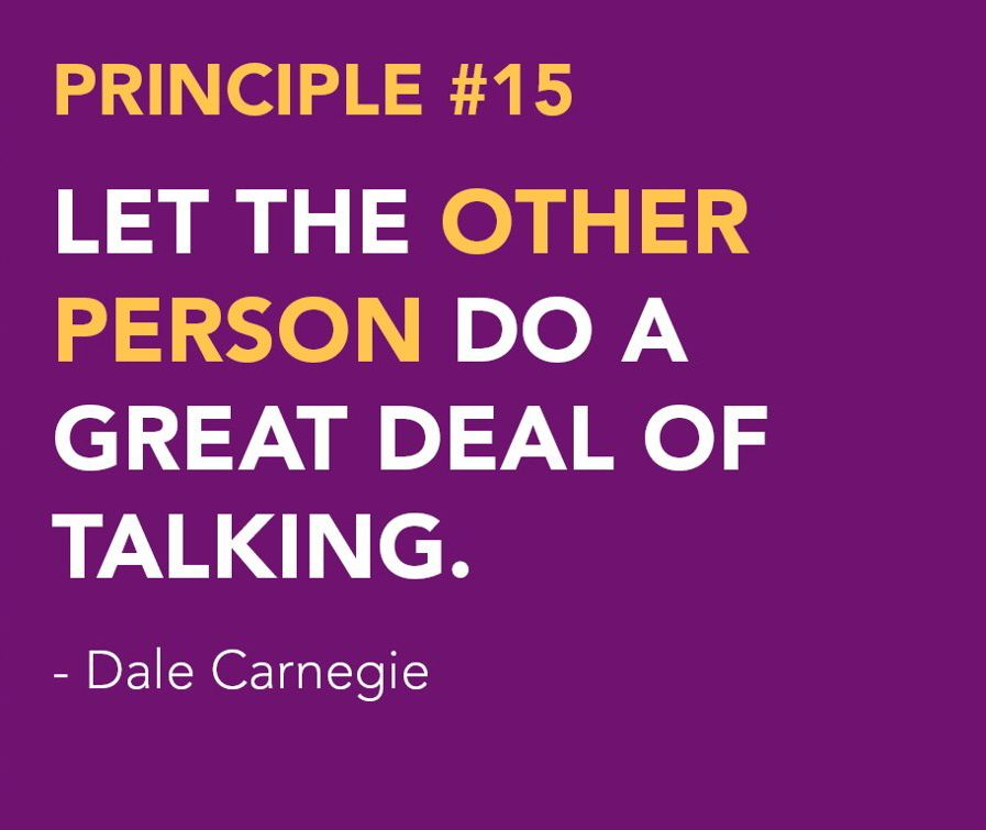 the importance of dale carnegies how to win friends and influence people to todays society How to win friends and influence people [book summary] according to carnegie, it's impossible to win an argument if we lose the argument dale carnegie what if, instead of arguing with someone, we admit their importance through appreciation.