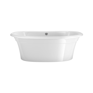Maax 105744 000 Ella Sleek 6636 Freestanding Soaker Tub With