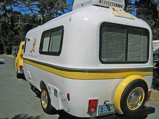 Tweety Casita Yellow Stripe Travel Trailers Pinterest