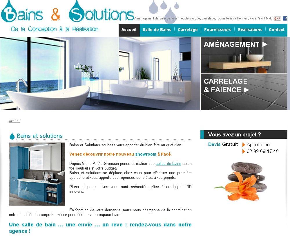 Rénovation Salle De Bain Morlaix bains et solutions : aménagement de salle de bain à rennes