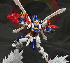 Robot Spirits God Gundam / Burning Gundam (vicmeister00) Tags: robot god g spirits burning gundam
