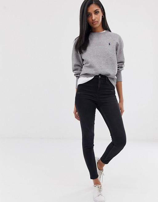 Polo Ralph Lauren classic logo crew neck sweater | ASOS
