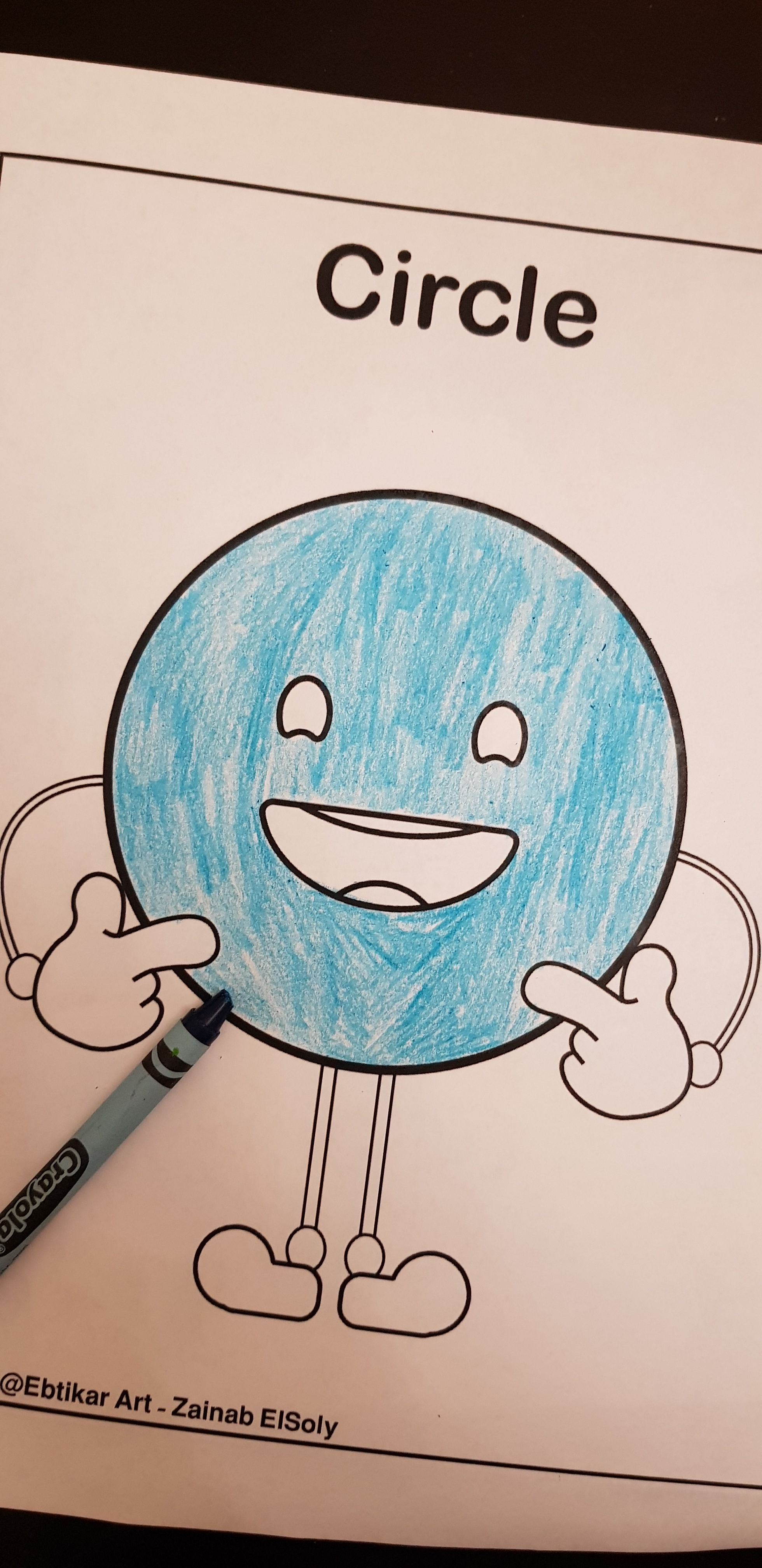 Free Printable Preschool Coloring Pages Emoji Shapes