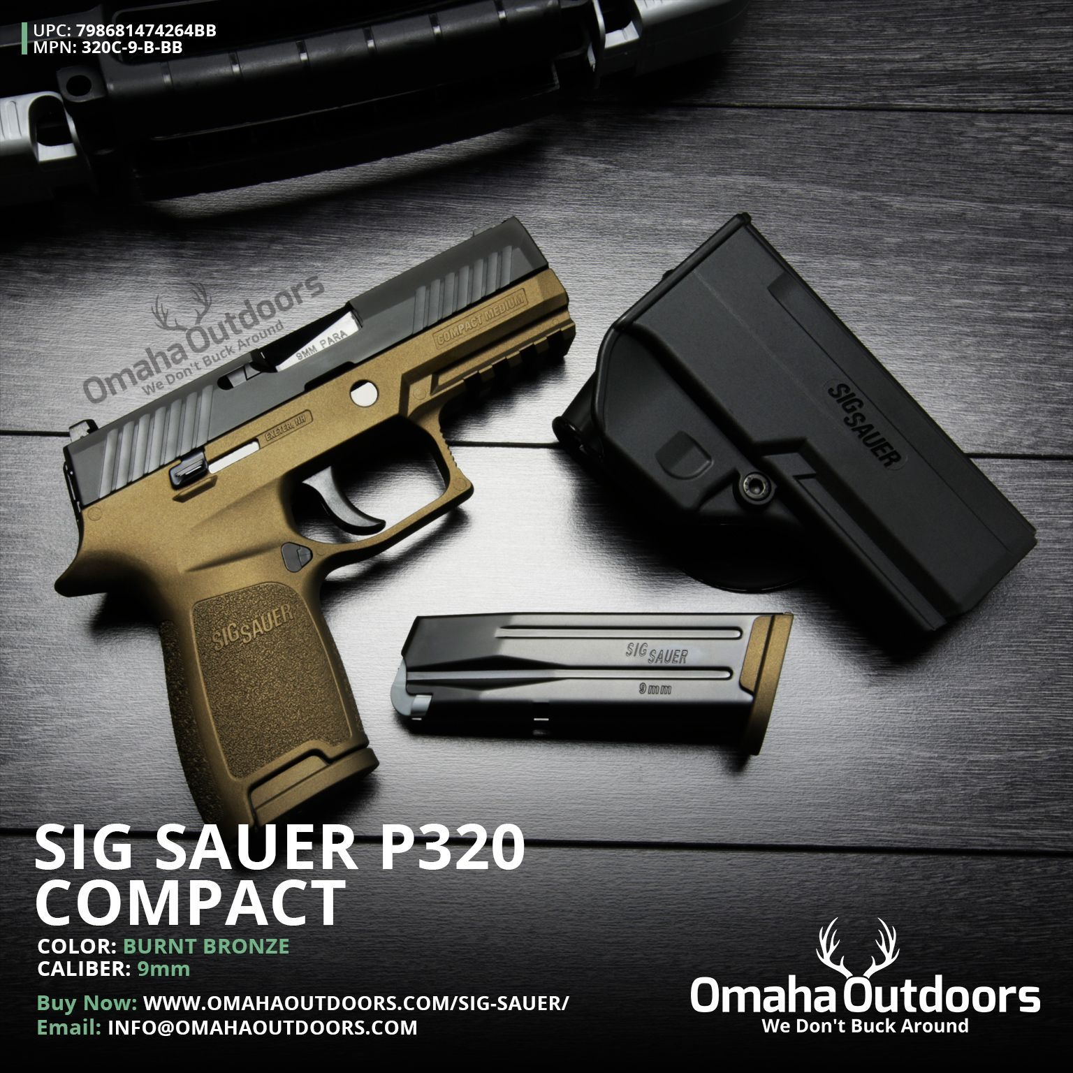 Pin by Dave Richardson on Sig Sauer P320 | Hand guns, Sig