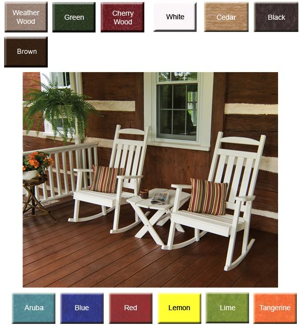 Peachy Outdoor Poly Furniture Amish Polycraft 890 Classic Porch Pdpeps Interior Chair Design Pdpepsorg