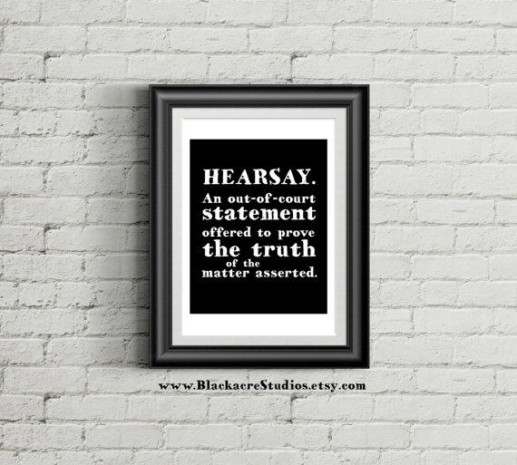 Hearsay Rule New Attorney Gift Law Student Law School Etsy Law School Graduation Gift Law School Graduation Law School