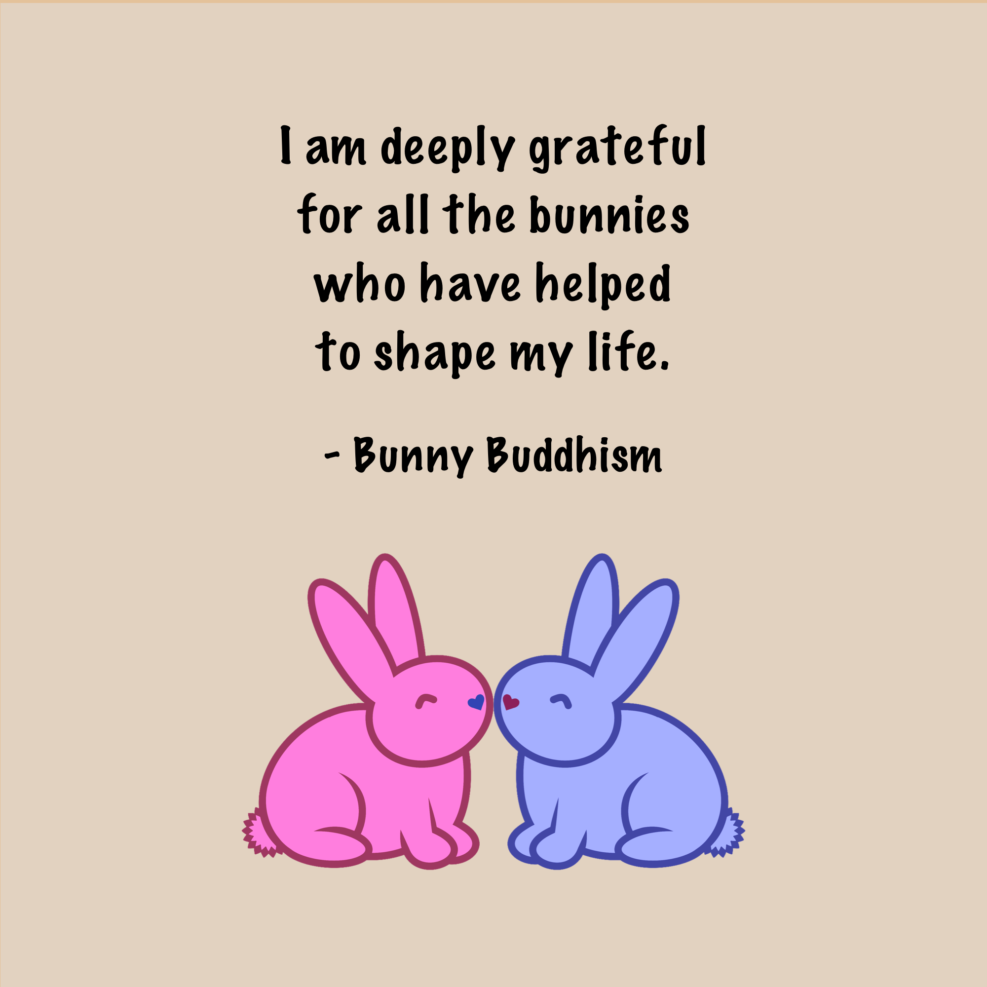 Grateful Bunnies | Bunny quotes, Bunny, Bunny care