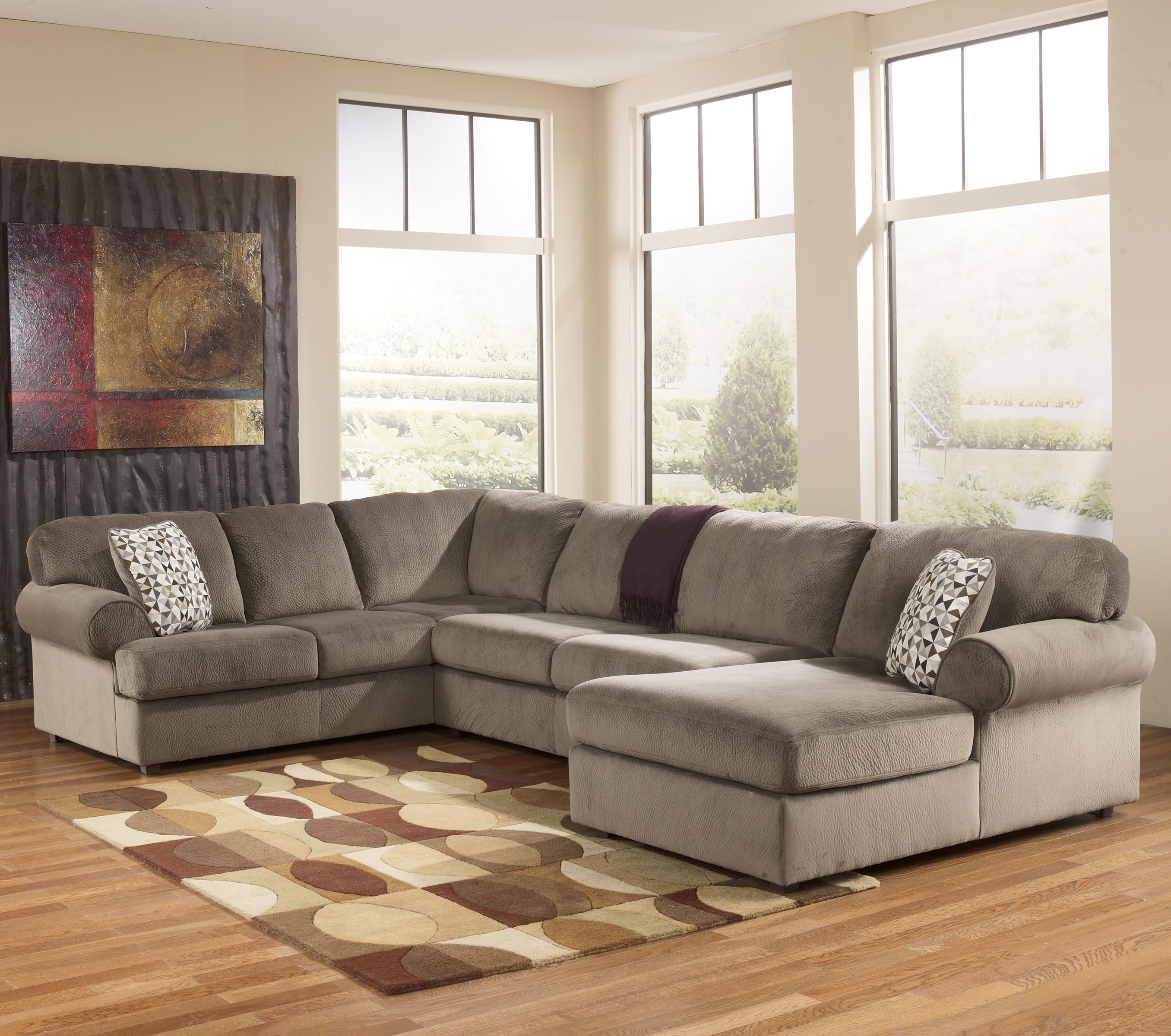 Attrayant Jessa Place   Dune Casual Sectional Sofa With Right Chaise By Signature  Design By Ashley