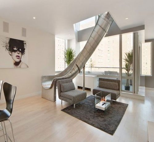 A Slide In Your House Awesome The Only Thing Better Would Be