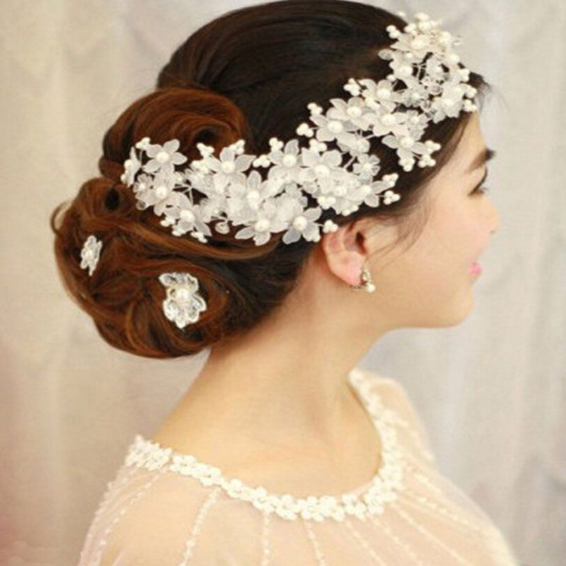 Find More Hair Jewelry Information About 2016 New Arrival Hairwear Pearl Bridal Combs Hairpin Tiara Wedding Accessories For Brides