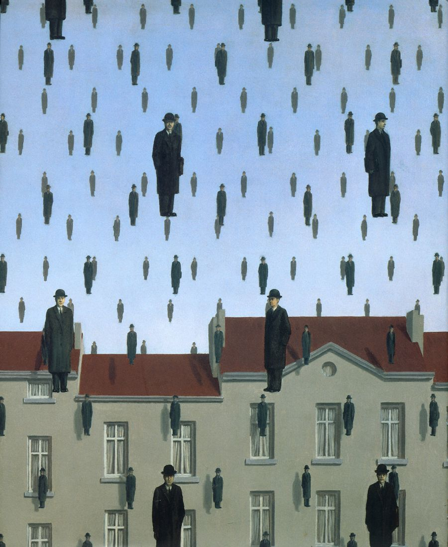 Image Detail For Magritte Attempting The Impossible