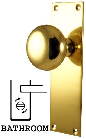 M.Marcus M Marcus Solid Brass Balmoral Bathroom Set M Marcus Balmoral solid brass mortice knobs on a bathroom backplate. Back plate measures approximately 170x50mm. Complete with connecting bar and fixing screws. http://www.MightGet.com/january-2017-12/m-marcus-m-marcus-solid-brass-balmoral-bathroom-set.asp