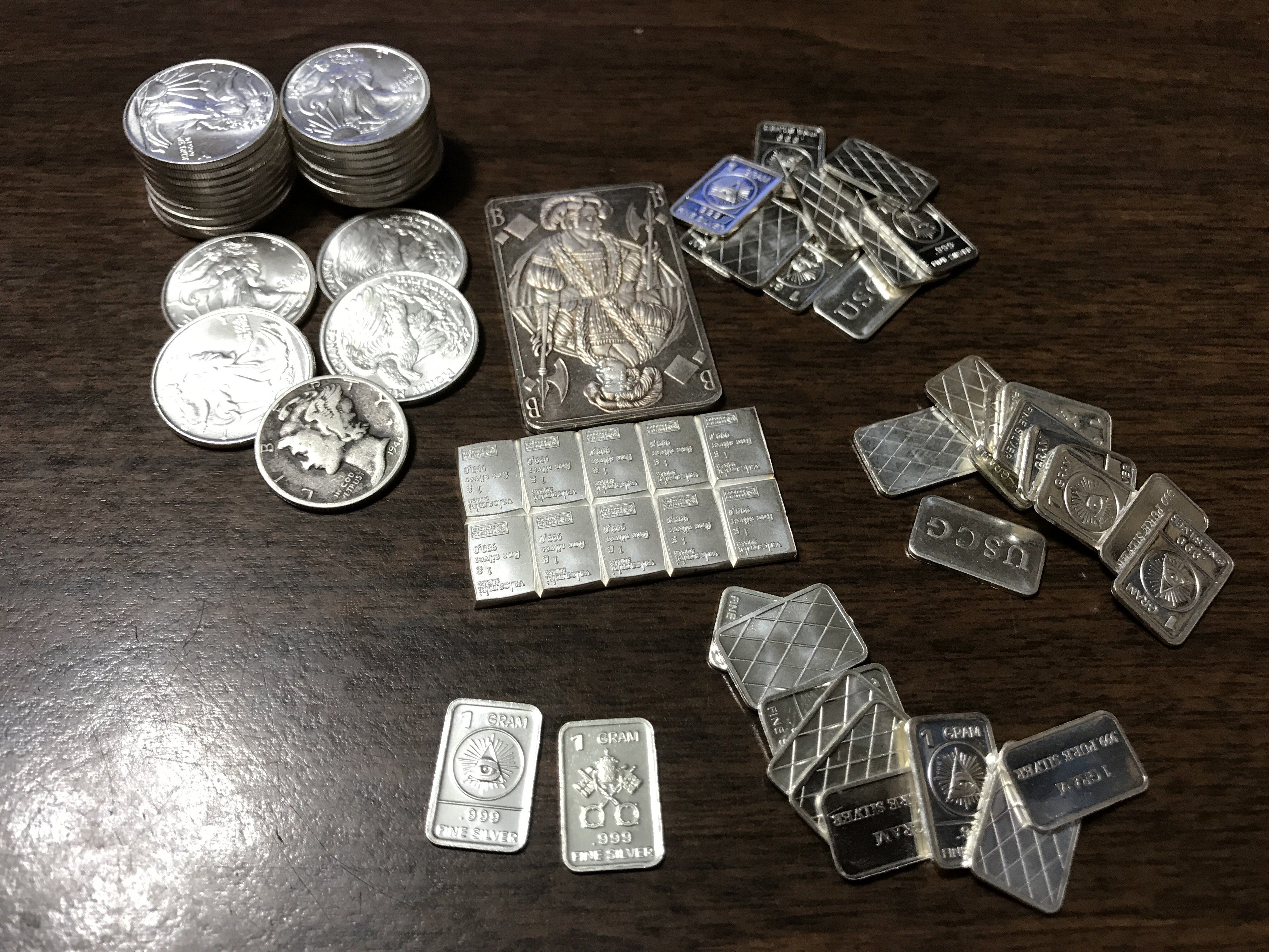 Silver investments coins or bars perlus investment management llpp