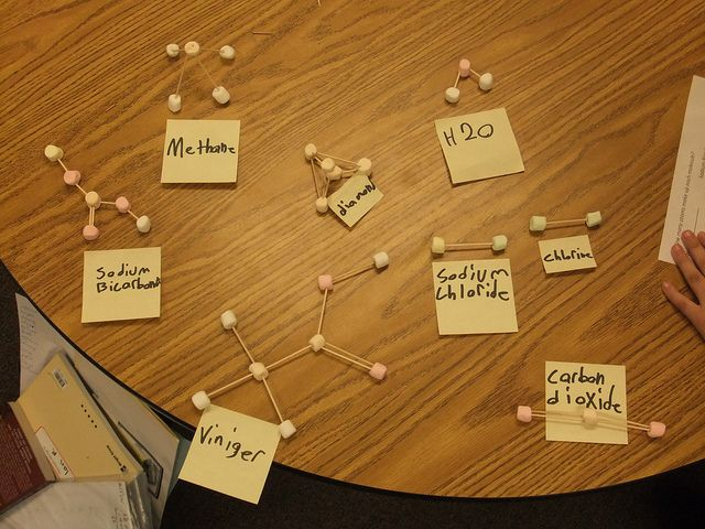 marshmellow molecules | Marshmallow Molecules | Flickr - Photo Sharing!