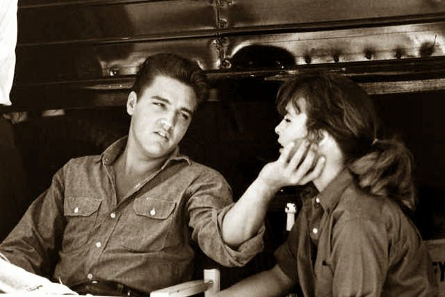 Elvis and actress Ann ...