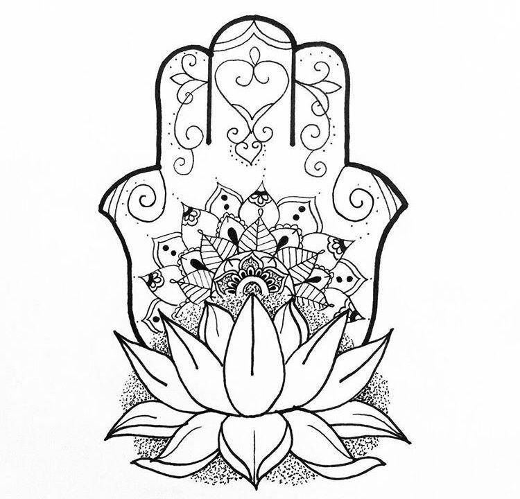 Pin by Debora Paulella on Hamsa Hamsa tattoo design