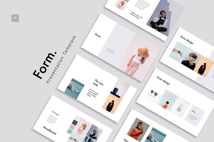 Form Google Slide Stylish Template In 2020 Presentation Slides Templates Simple Powerpoint Templates Presentation Templates