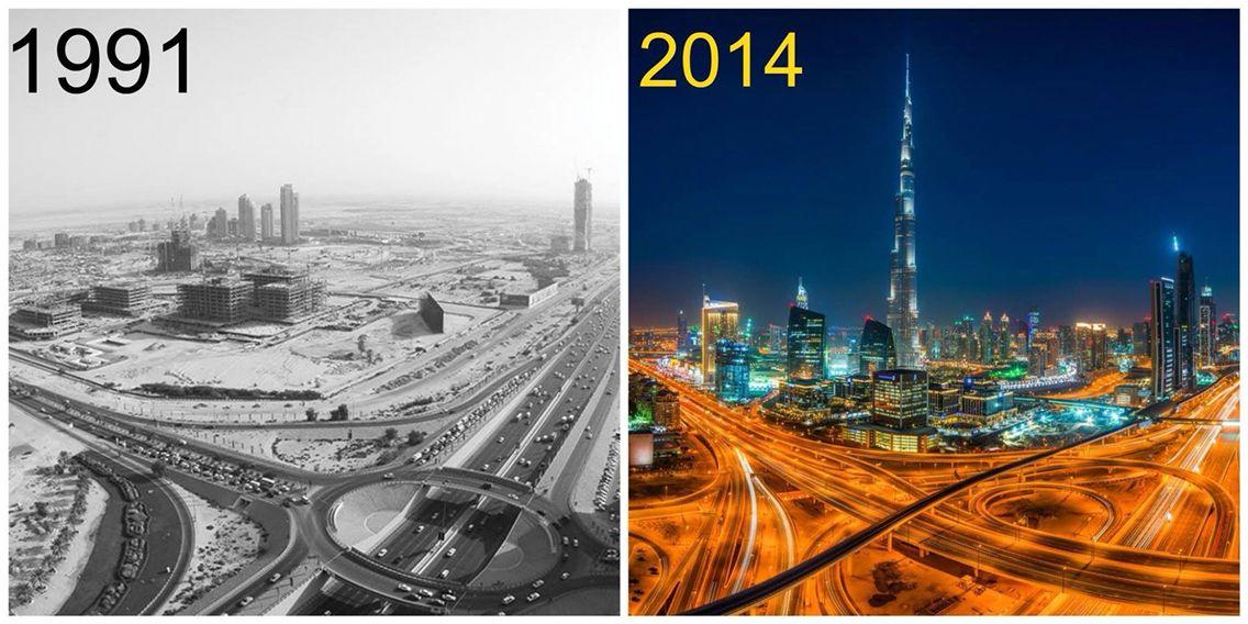 #throwback #thursdays. #dubai then and now. # ...