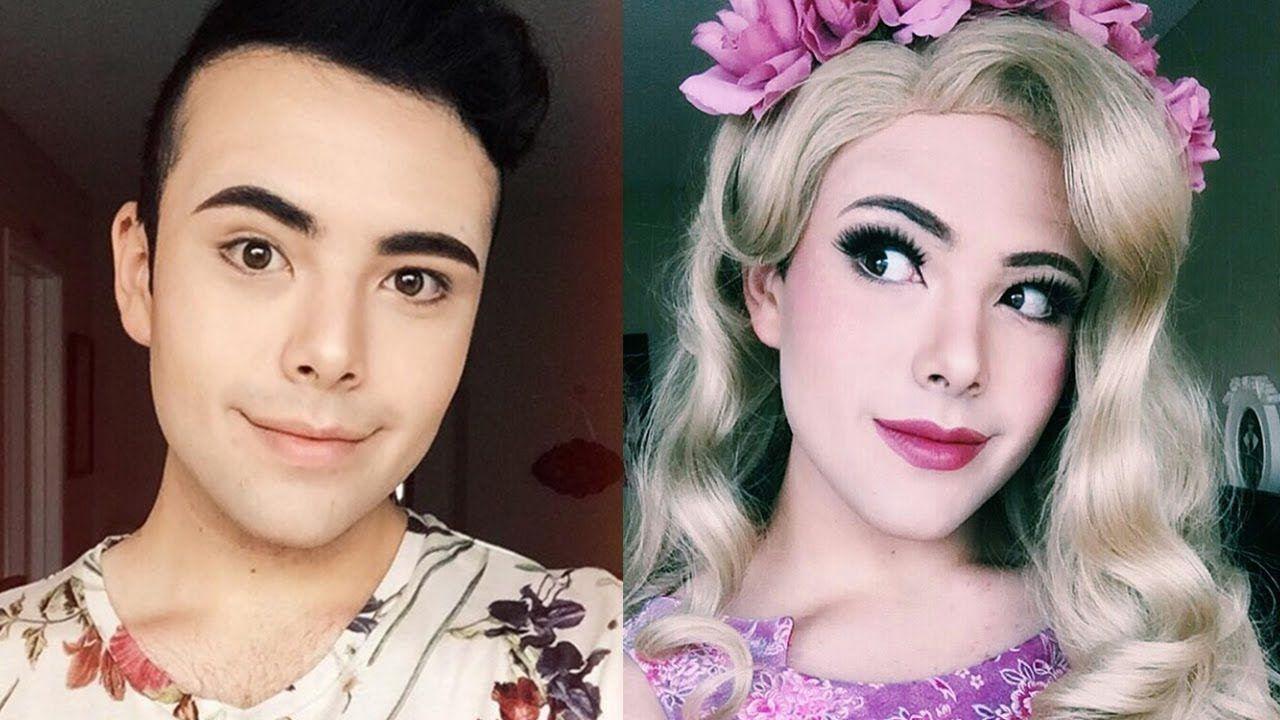 Boy Dressing As a Girl Princess Cosplay (Boy To Girl
