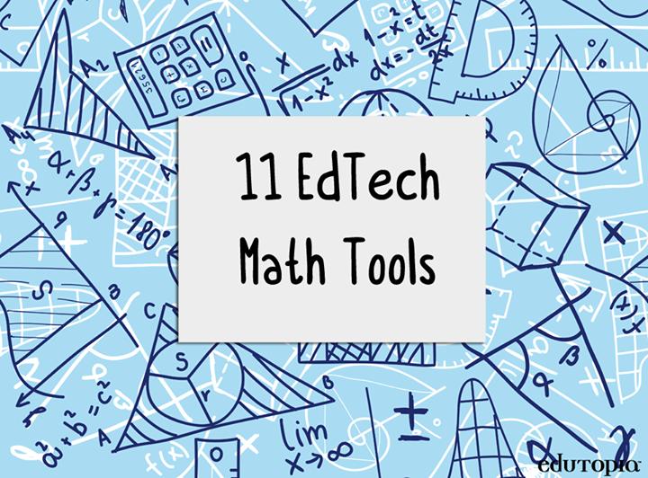 14 Virtual Tools For The Math Classroom Math Methods Pinterest