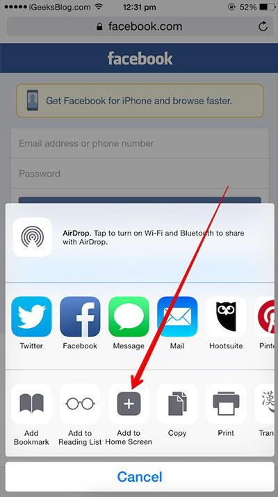How To Create Website Shortcuts On Iphone And Ipad Home Screen Homescreen Iphone Create Website