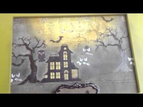 Newton S Nook Designs Spooky Street Home Decor Project Youtube Halloween Decor Project Spooky Projects