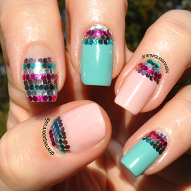 Drama Queen Nails: #31dc2013 - Day 18: Half Moons