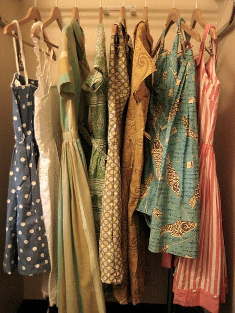 Closet Full of Dresses