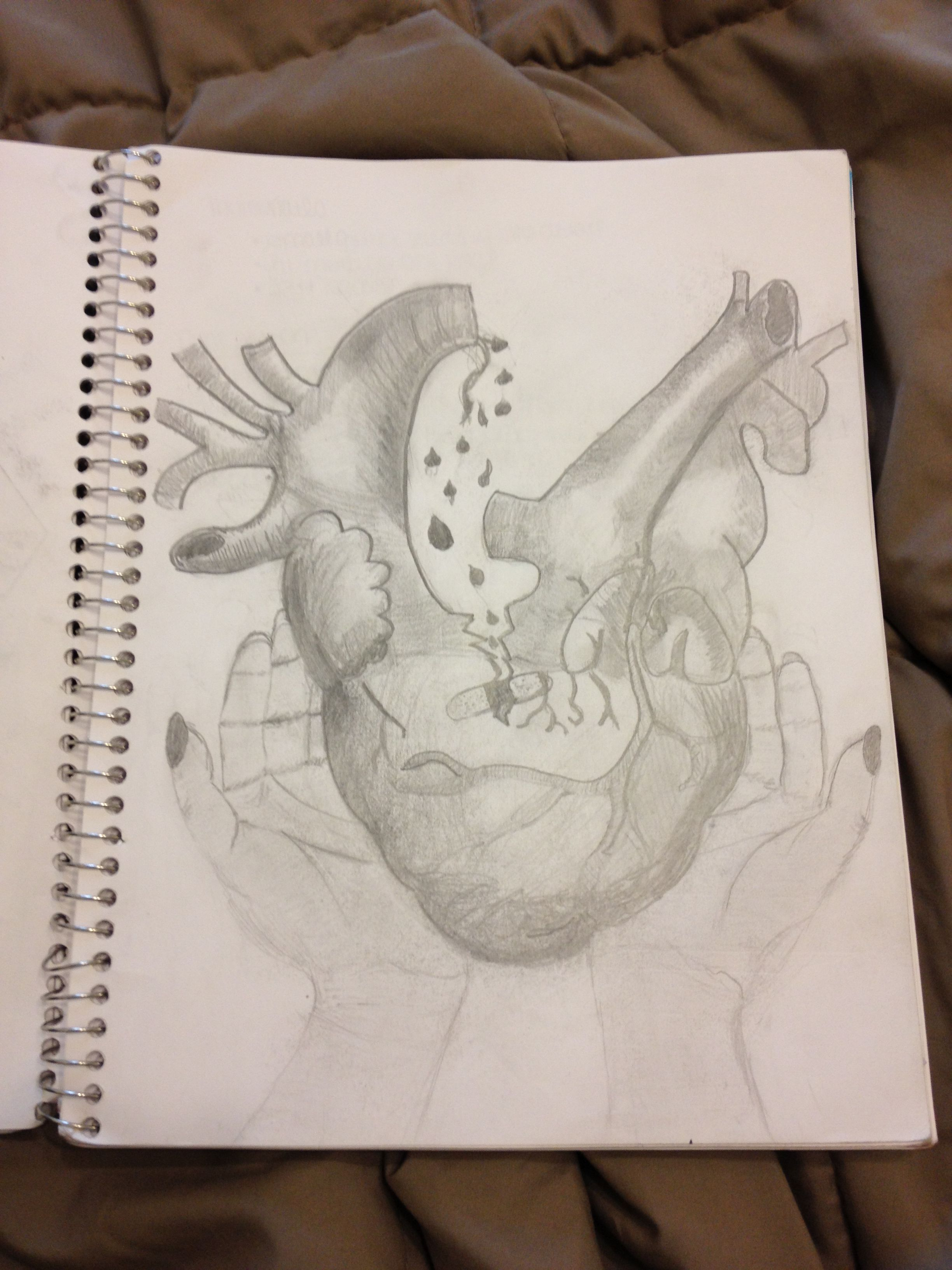#art #sketch #drawing #pretty #heart #blackandwhite #freehand #body  Kirsten Goldman