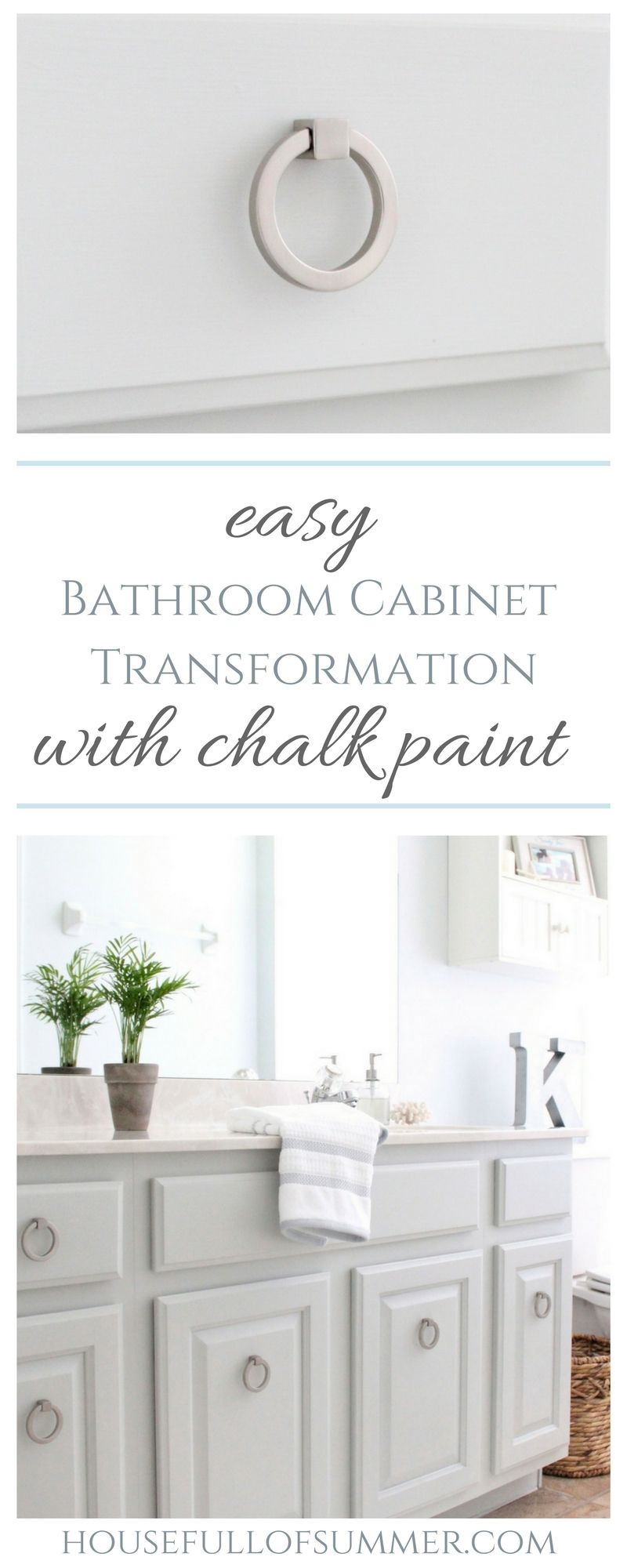 How We Painted Our Kitchen Cabinets! (Benjamin Moore Swiss ... can Save You Time, Stress, and Money.