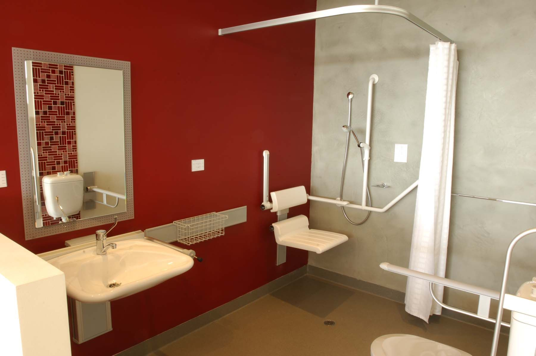 Disabled Bathroom #HandicappedBathrooms >> Visit us for more ...