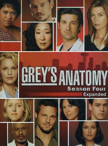 Greys Anatomy - Season 4 (2007) TV Series poster on cokeandpopcorn