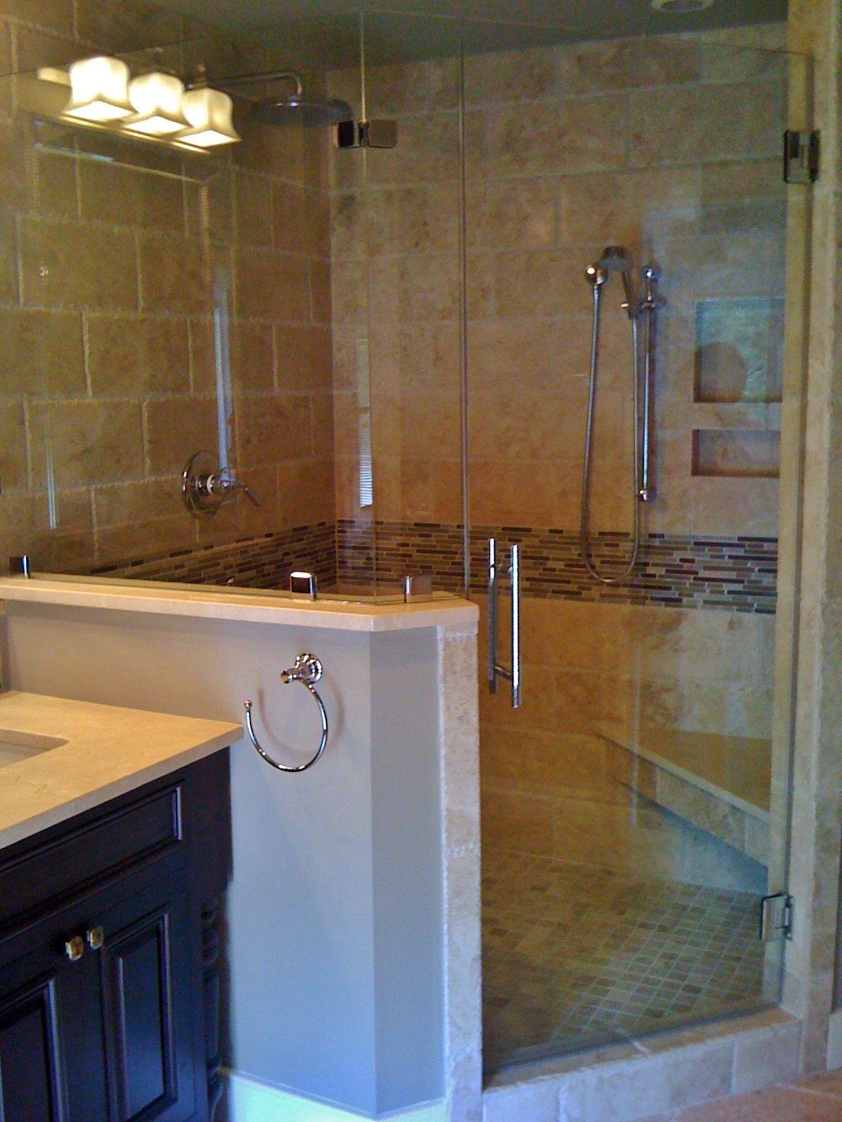 Master Bathroom Re Design Shower Has 6x12 Chiseled Edge