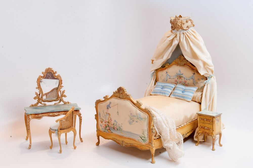 This Beautiful One Of A Kind French Inspired Bedroom Set
