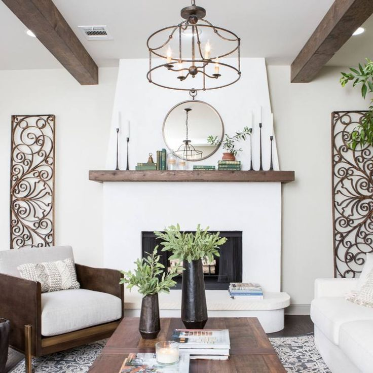 51+ Fixer Upper Living Room Decor Ideas