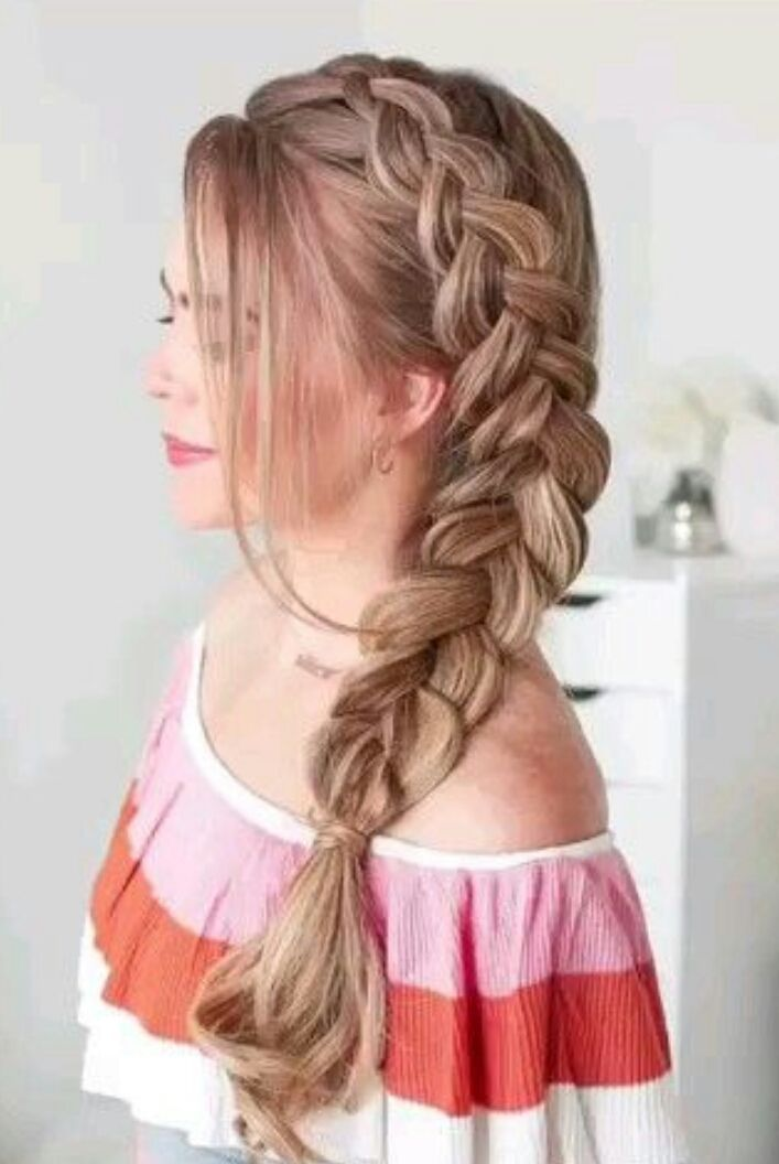 Mystery Melezs In 2020 Easy Braids Braided Hairstyles Pony