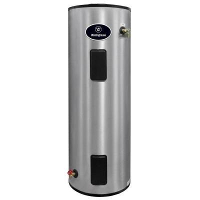 Westinghouse 40 Gal 4500 Watt Lifetime Residential Electric Water Heater Wer040c2x045 The Home Depot Stainless Steel Tanks Water Heating Water Tank