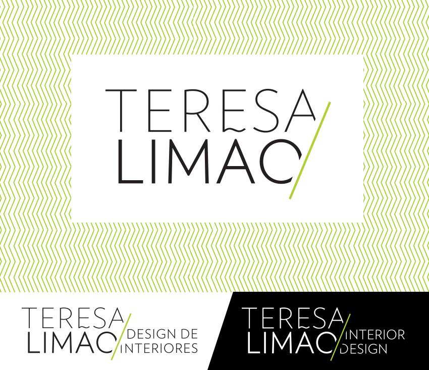 Graphic identity for portuguese interior designer Teresa