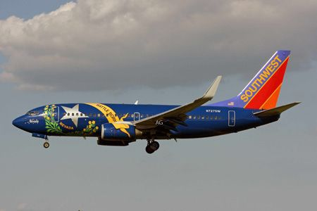 Southwest Airlines (SWA): Nevada One - flew in this one