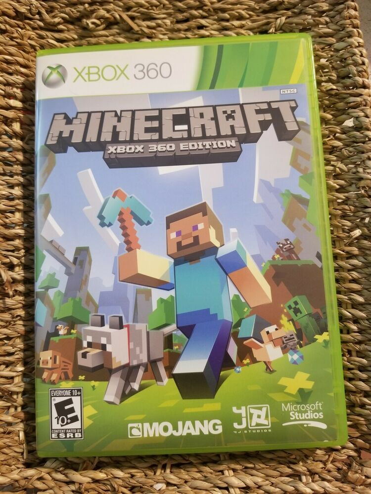 Minecraft Xbox 360 Edition X360 Very Clean Complete